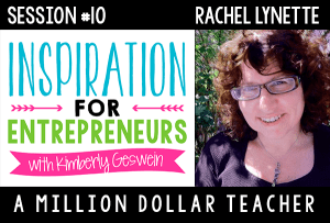 Rachel Lynette on Inspiration for Entrepreneurs Podcast!