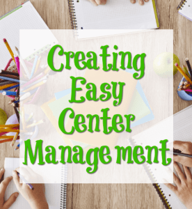 Creating Easy Center Management