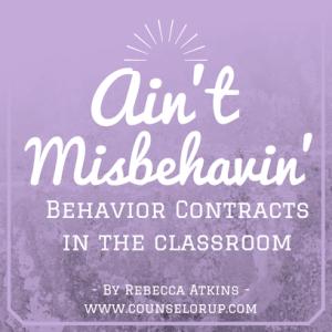 Ain't Misbehavin': Behavior Charts in the Classroom