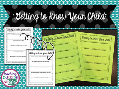 """Getting to know your students' families is an important step at the beginning of each new school year. Some schools have """"Back to School"""" or """"Meet the Teacher"""" nights, and some schools require home visits. This guest blogger shares the system in her school, where teachers have """"chats"""" with families to help them learn important information about their students."""