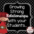 Although it's especially important at the beginning of the school year, it's important to take time throughout the year to work on growing relationships with your students. Our guest blogger shares five tips for showing your students you care about them and growing strong relationships with them. Click through to read more.