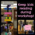 Every teacher has at least one student who participates in chronic book browsing--always looking but never reading! Here is an idea to end that cycle.