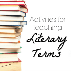 Activities for Teaching Literary Terms