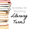 Literary terms aren't the most fun topic, and there are a lot of them, so they can be hard to remember. These activities for teaching literary terms are fun, engaging, and authentic.