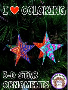 Got Kids Who Love to Color? Make this 3D Star Ornament!
