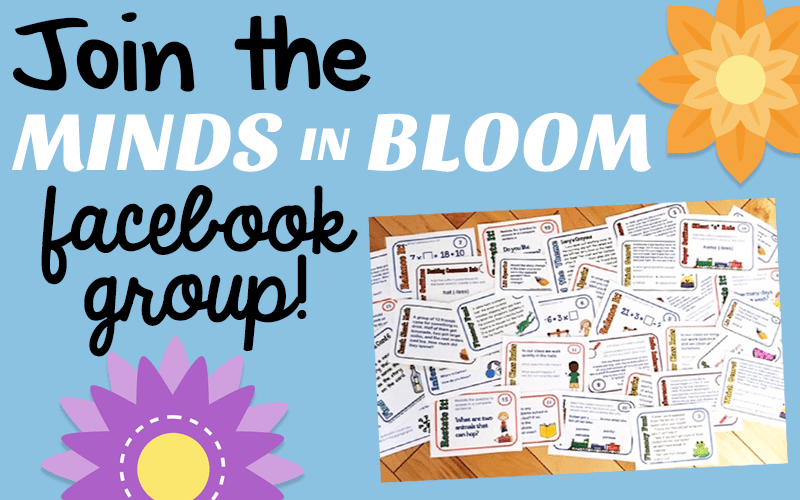 Join the Minds in Bloom Facebook Group!