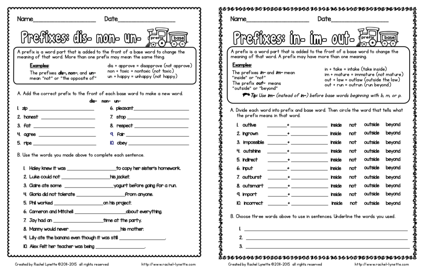 Suffix Worksheet 2nd Grade