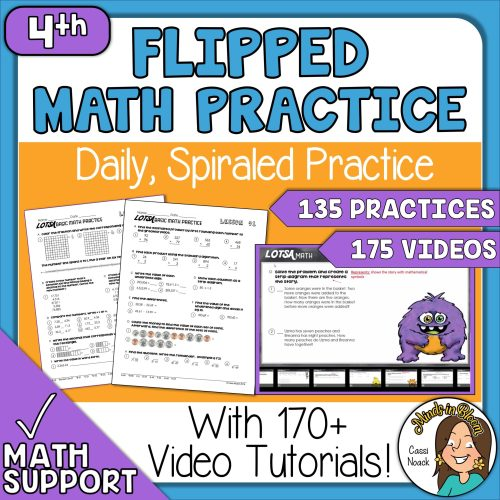 small resolution of 4th Grade Math Daily Spiral Review Great for Distance Learning 170+ Videos  - Minds in Bloom