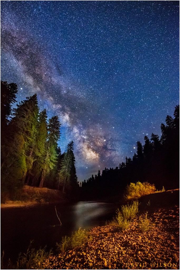 Milky Way over Eel River