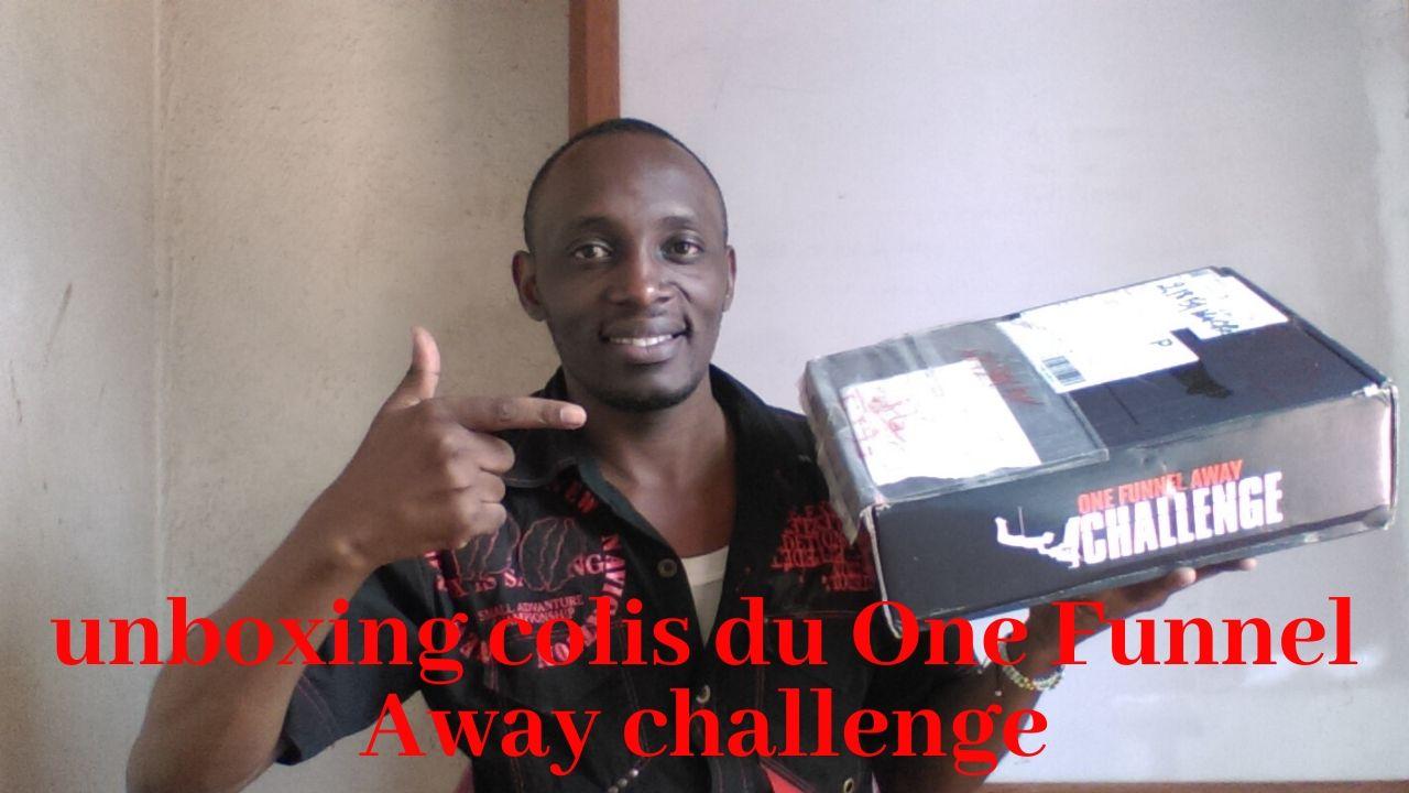 UNBOXING de ma boxe du One Funnel Away challenge