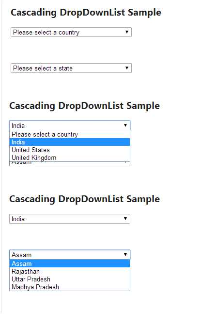 Chained Dropdown Php : chained, dropdown, Example