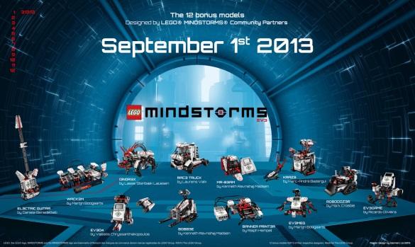 Lego Mindstorms EV3 Bonus Models