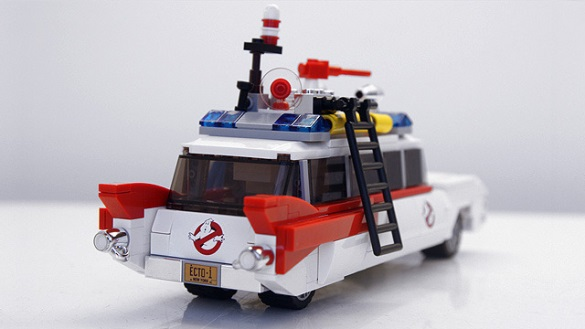 Ghostbusters Ecto-1 Lego Cuusoo