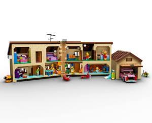 Lego Simpsons set 7106 maison ouverte