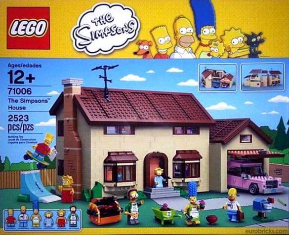 Lego Simpsons set 71006