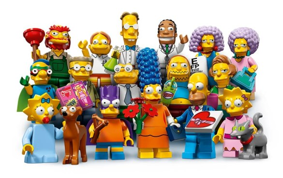 lego simpsons 2 minifigures series