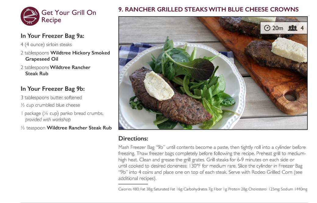 Rancher Grilled Steaks Recipe