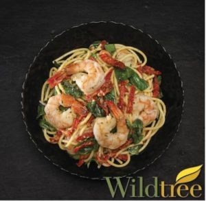 shrimp scampi bucatini