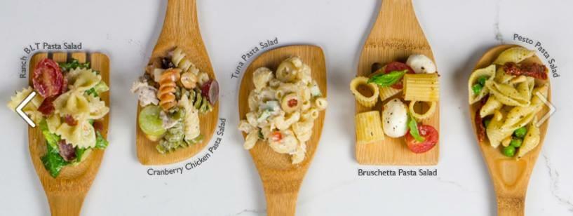 Taste of summer pasta salad photo