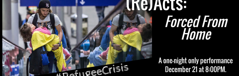 Forum (re)acts #RefugeeCrisis Forced From Home