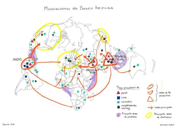 Mondialisation du marché des drogues