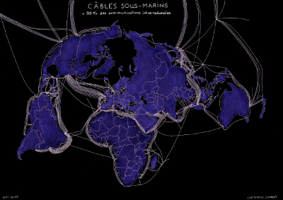 Câbles sous-marins : architecture vitale des communications planétaires