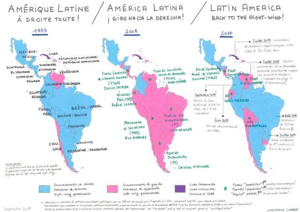 Retour de la droite en Amérique Latine