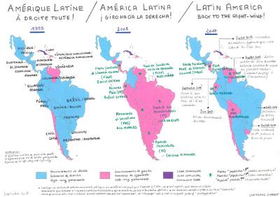Amérique Latine : à droite toute! 🇨🇵️🇪🇦️🇬🇧