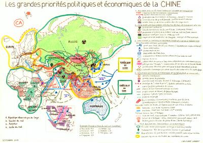 Carte Chine Collier De Perles.Les Grandes Priorites Politiques Et Economiques De La Chine