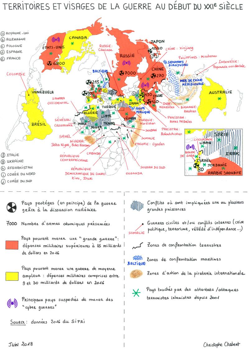 Territoires et visages de la guerre au début du XXIe siècle