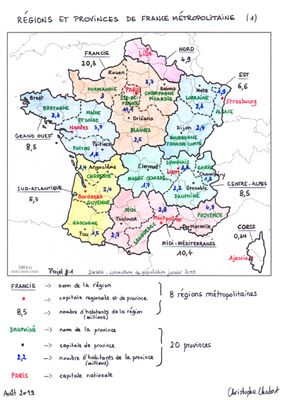 France régions