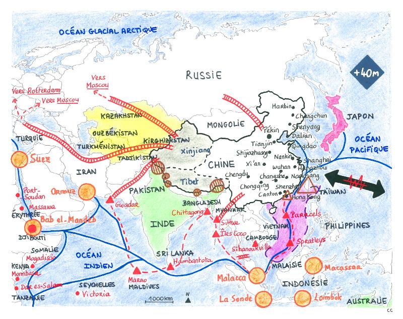 stratégie géopolitique de la chine