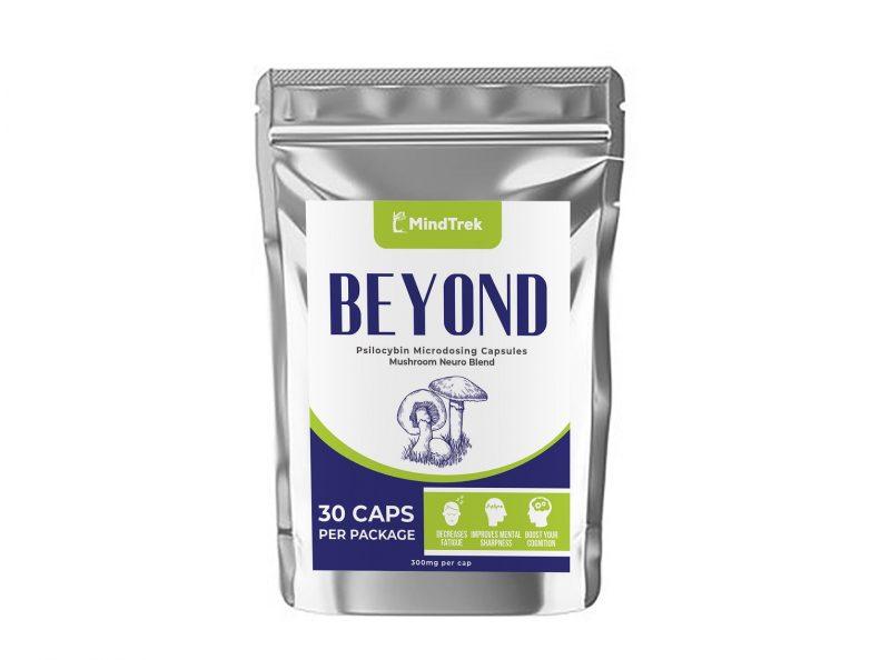 Buy Beyond Microdose Mushrooms Lion's Mane Mushrooms   Mindtrek.ca