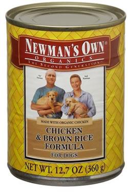 Собачий корм Newman's Own® Organics