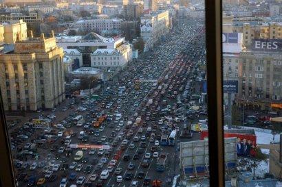 Траффик в Москве