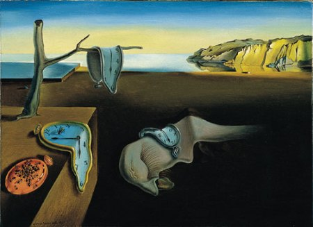 The Persistence of Memory by Dali