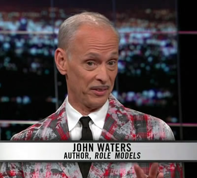 John Waters в передаче Real Time with Bill Maher