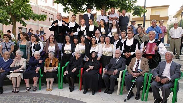 Семья Мелис, семья догожителей из Сардинии