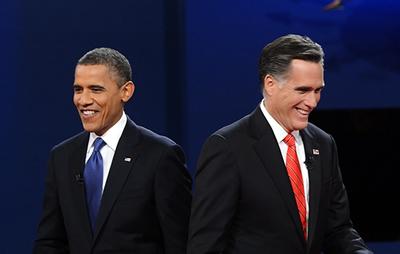 Дебаты Барака Обамы и Митта Ромни