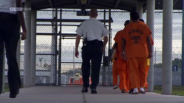 Заключенные американской тюрьмы