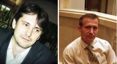 Денис Полтавец и Роман Химич