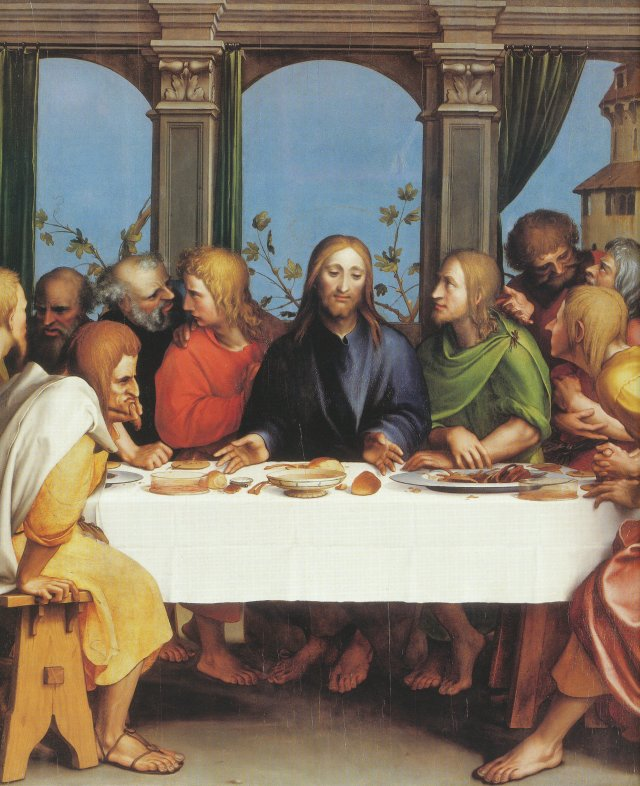 The Last Supper, by Hans Holbein the Younger 1524