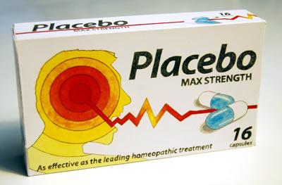 упаковка с капсулами плацебо