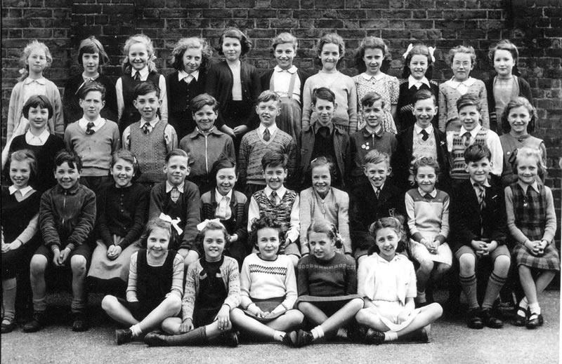 школьная фотография 1953 года
