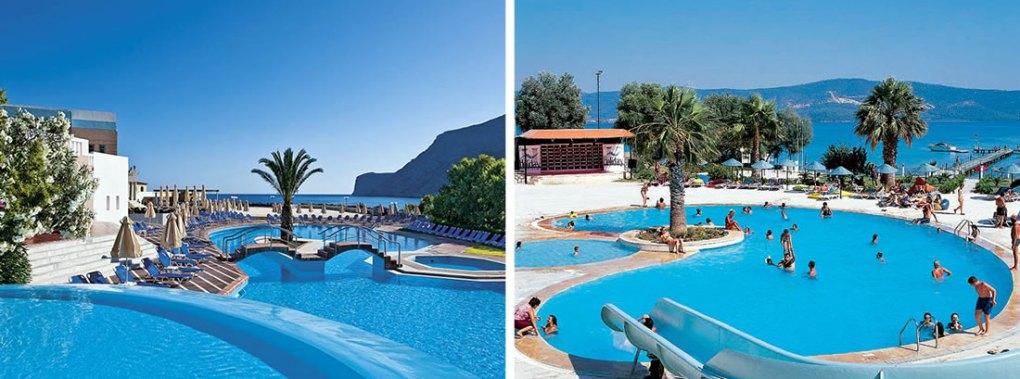 два разных курорта