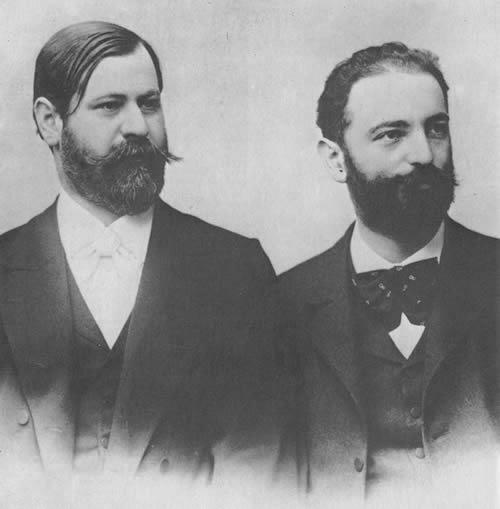 Фрейд и Флисс в 1890