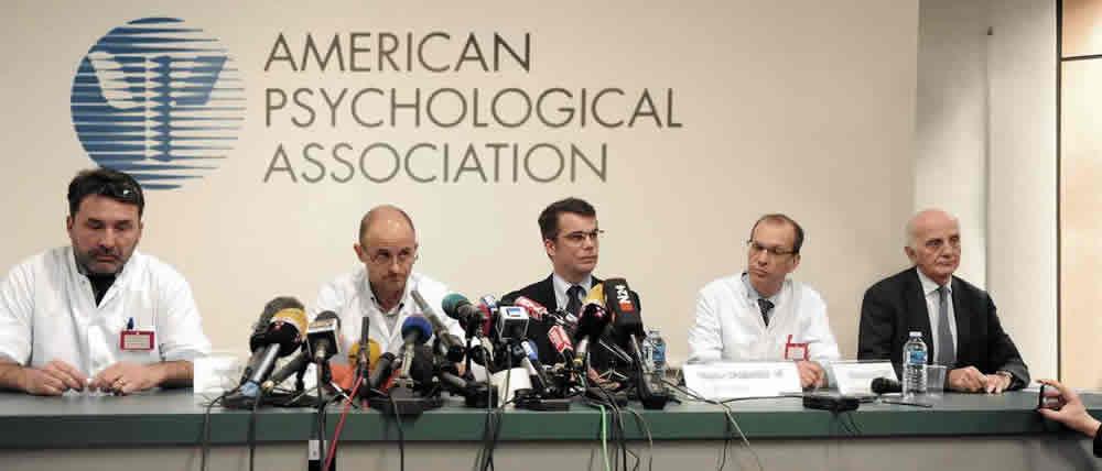 пресс-конференция Американской психологической ассоциации