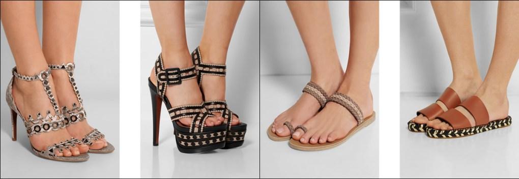сравнение туфель по цене
