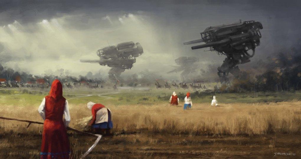 работа польского художника Якуба Розальски