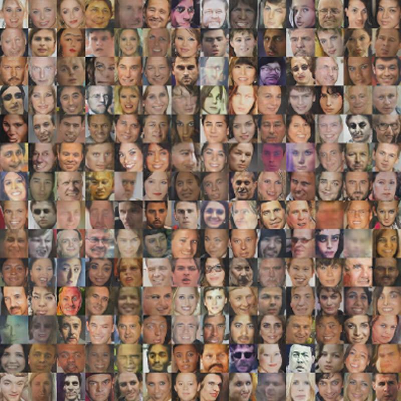 лица, сгенерированные искусственным интеллектом